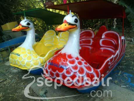 sepeda air - pengrajin sepeda air bebek harga murah
